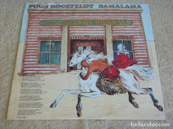 Discos de vinilo: PUGH ( BAMALAMA ) 1977 - SWEDEN LP33 METRONOME RECORDS - Foto 4 - 111327055
