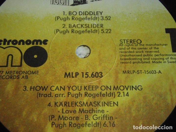 Discos de vinilo: PUGH ( BAMALAMA ) 1977 - SWEDEN LP33 METRONOME RECORDS - Foto 5 - 111327055