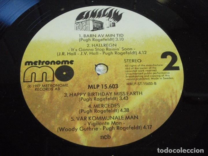 Discos de vinilo: PUGH ( BAMALAMA ) 1977 - SWEDEN LP33 METRONOME RECORDS - Foto 7 - 111327055