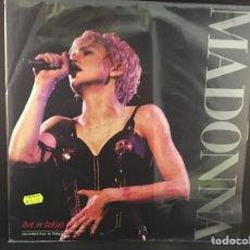 Discos de vinilo: MADONNA - LIVE IN TOKYO - LP. Lote 111360342