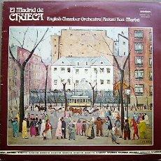 Discos de vinilo: EL MADRID DE CHUECA. Lote 54201490