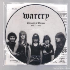 Discos de vinilo: WAR CRY - TRILOGY OF TERROR DEMO 1982 (SINGLE PICTURE 7'') NUEVO. Lote 111373215