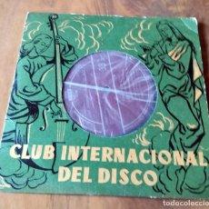 Discos de vinilo: SINGLE - CLUB INTERNACIONAL DEL DISCO - CID. Lote 111373487