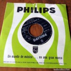 Discos de vinilo: SINGLE - PHILIPS - ORQUESTA DE PAUL MAURIAT - HECHO EN COSTA RICA. Lote 111373935