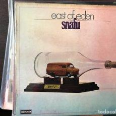 Discos de vinilo: SNAFU. EAST OF EDEN. Lote 111389560