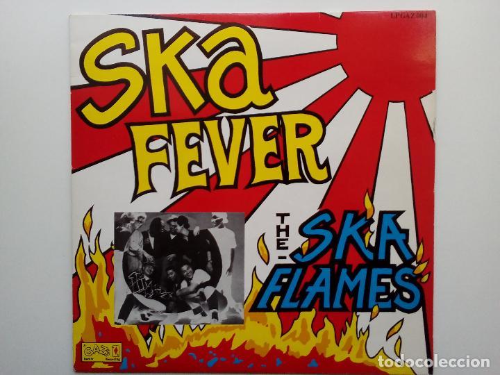 SKA FLAMES- SKA FEVER - UK LP 1989 -JAPANESE SKA- VINILO COMO NUEVO. (Música - Discos de Vinilo - EPs - Reggae - Ska)