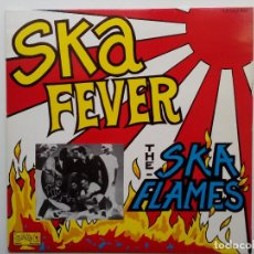 Discos de vinilo: SKA FLAMES- SKA FEVER - UK LP 1989 -JAPANESE SKA- VINILO COMO NUEVO.. Lote 111418795