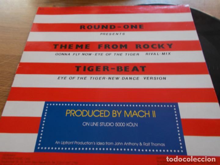 Discos de vinilo: THEME FROM ROCKY. ROUND ONE. TIGER BEAT.... MAXI 12 - Foto 2 - 111432683