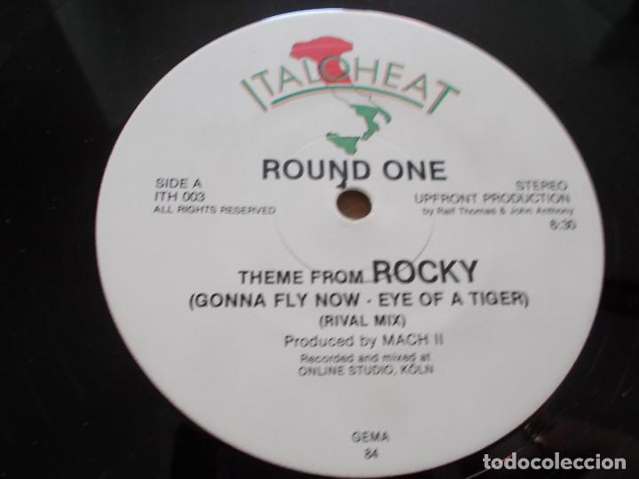 Discos de vinilo: THEME FROM ROCKY. ROUND ONE. TIGER BEAT.... MAXI 12 - Foto 3 - 111432683