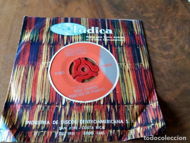 Discos de vinilo: SINGLE - DISCOS - INDICA - MÚSICA PARA CENTRO AMÉRICA - COSTA RICA - Foto 2 - 111434267