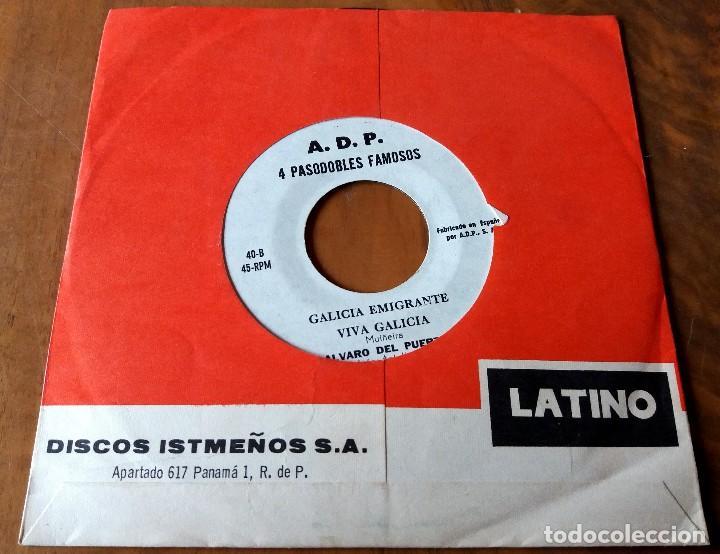 Discos de vinilo: SINGLE - DISCOS ISTMEÑOS - 4 PASODOBLES FAMOSOS - LATINO - Foto 2 - 196026248