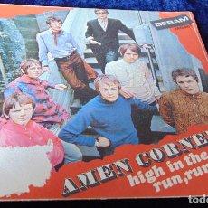 Discos de vinilo: AMEN CORNER – HIGH IN THE SKY - SINGLE 1968. Lote 111434499