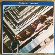 Discos de vinilo: THE BEATLES 1967-1970 DOBLE ÁLBUM EMI ODEON 1973. Lote 111452508