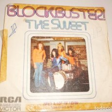 Discos de vinilo: SINGLE THE SWEET. BLOCKBUSTER. RCA 1973 SPAIN. PROBADO Y BIEN. Lote 111462631