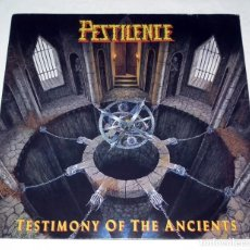 Discos de vinilo: LP PESTILENCE - TESTIMONY OF THE ANCIENTS. Lote 111475275
