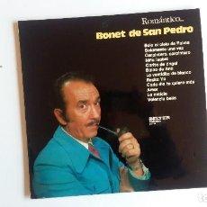 Discos de vinilo: (SEVILLA) LP - BONET DE SAN PEDRO - ROMANTICO .... Lote 111477215