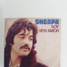 Discos de vinilo: SHERPA SOY / VEN AMOR ( 1975 MOVIEPLAY ESPAÑA ) BARON ROJO MODULOS BUEN ESTADO GENERAL. Lote 111485999