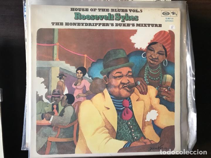 THE HONEIDRIPPER'S DUKE'S MIXTURE. ROOSEVELT SYKES (Música - Discos - LP Vinilo - Jazz, Jazz-Rock, Blues y R&B)