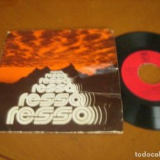 Discos de vinilo: 7'' : GRUP RESSO : RARO SPANISH 1978 MIRAR DESCRIPCION. Lote 111490363