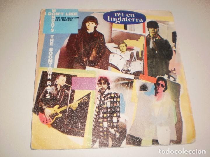 SINGLE THE BOOMTOWN RATS. I DON'T LIKE MONDAYS. MERCURY 1979 SPAIN. PROBADO Y BIEN (Música - Discos - Singles Vinilo - Pop - Rock - Extranjero de los 70)