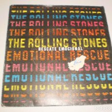 Discos de vinilo: SINGLE THE ROLLING STONES. EMOTIONAL RESCUE. EMI ODEON 1980 SPAIN. PROBADO Y BIEN. Lote 111510447