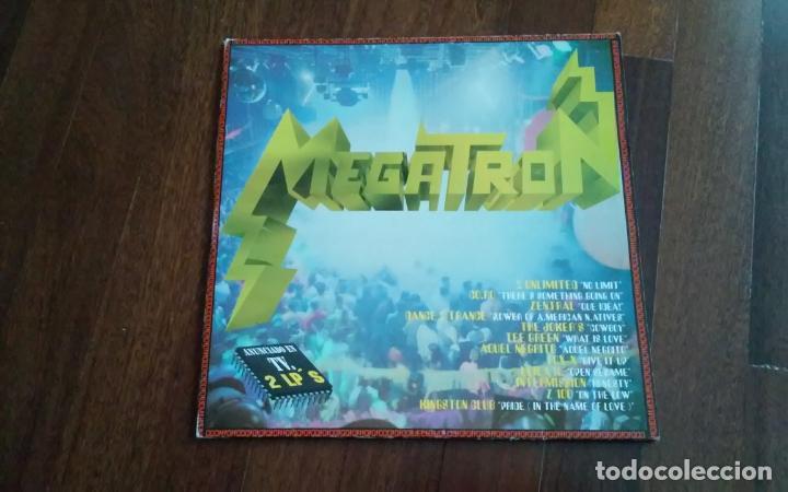 MEGATRON-DOBLE LP (Música - Discos - LP Vinilo - Techno, Trance y House)