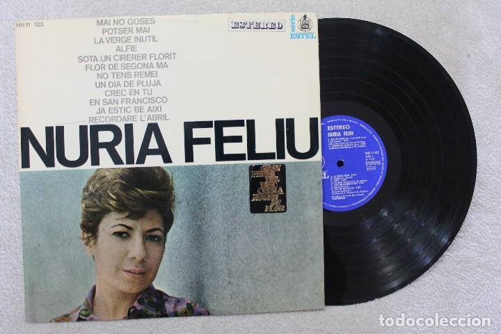 NURIA FELIU LP VINYL MADE IN SPAIN 1967 (Música - Discos - LP Vinilo - Solistas Españoles de los 50 y 60)