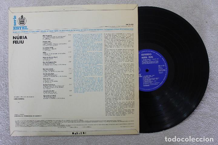 Discos de vinilo: NURIA FELIU LP VINYL MADE IN SPAIN 1967 - Foto 2 - 111514035