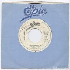Discos de vinilo: VICIO LATINO_¿SABES QUE HORA ES?_VINILO SINGLE 7''PROMO EDICION ESPAÑOLA_1984. Lote 111517991