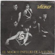 Discos de vinilo: VIDEO_EL MAGICO INFLUJO DE LA LUNA_VINILO SINGLE 7'' PROMO EDICION ESPAÑOLA_1983. Lote 111519907