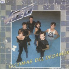 Discos de vinilo: VIDEO_VICTIMAS DEL DESAMOR_VINILO SINGLE 7'' PROMO EDICION ESPAÑOLA_1983_COMO NUEVO!!!. Lote 111520859