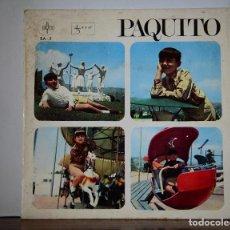 Discos de vinilo: PAQUITO - TARTANITA+3 (SAYTON,1967). Lote 111521143