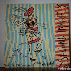 Discos de vinilo: SECOND IMAGE - THERE SHE GOES (MCA RECORDS,1984). Lote 111521567