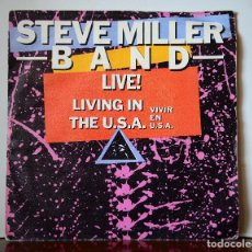 Discos de vinilo: STEVE MILLER BAND - LIVE IN THE USA (MERCURY,1983). Lote 111522563