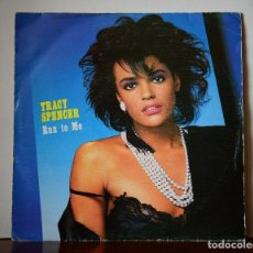 Dischi in vinile: TRACY SPENCER - RUN TO ME (CBS,1986) PROMOCIONAL. Lote 111524147