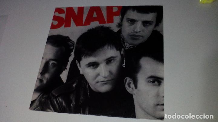 SNAP - SNAP (Música - Discos - LP Vinilo - Grupos Españoles de los 70 y 80)