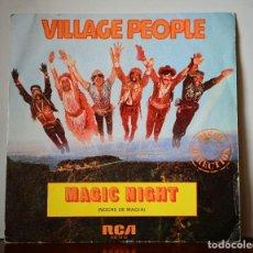 Discos de vinilo: VILLAGE PEOPLE - MAGIC NIGHT (RCA,1981). Lote 111525819