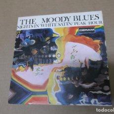 Discos de vinilo: THE MOODY BLUES (SN) NIGHTS IN WHITE SATIN AÑO 1967. Lote 111527603