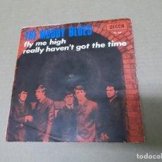 Discos de vinilo: THE MOODY BLUES (SN) FLY ME HIGH AÑO 1967. Lote 111527723