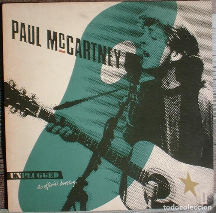 PAUL MCCARTNEY UNPLUGGED (THE OFFICIAL BOOTLEG) - LP MPL/PARLOPHONE/HISPAVOX. 1991 ED NUMERADA. (Música - Discos - LP Vinilo - Pop - Rock Extranjero de los 90 a la actualidad)