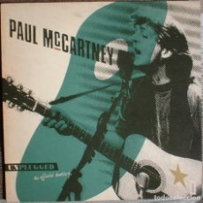 Discos de vinilo: PAUL MCCARTNEY UNPLUGGED (THE OFFICIAL BOOTLEG) - LP MPL/PARLOPHONE/HISPAVOX. 1991 ED NUMERADA.. Lote 111547635
