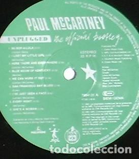 Discos de vinilo: Paul McCartney Unplugged (The Official Bootleg) - LP MPL/Parlophone/Hispavox. 1991 Ed numerada. - Foto 3 - 111547635