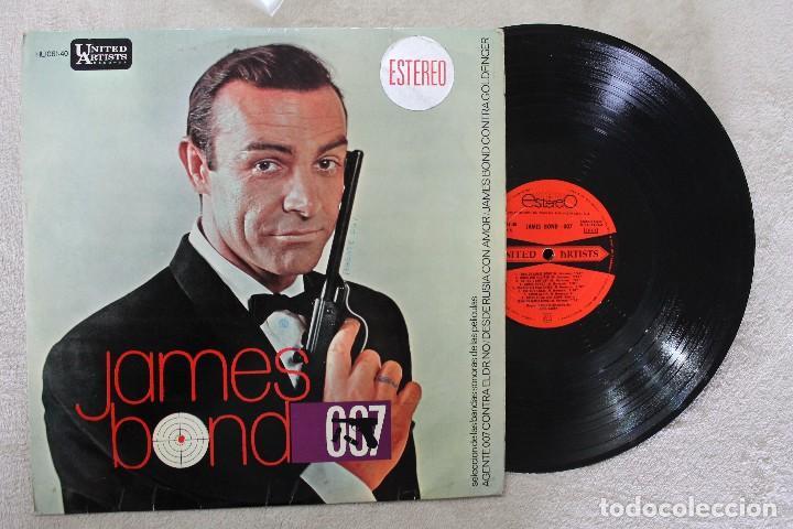 JAMES BOND 007 LP VINYL MADE IN SPAIN 1965 (Música - Discos - LP Vinilo - Bandas Sonoras y Música de Actores )