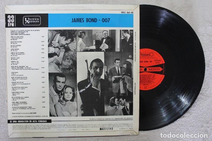Discos de vinilo: JAMES BOND 007 LP VINYL MADE IN SPAIN 1965 - Foto 2 - 111561599
