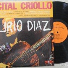 Discos de vinilo: ALIRIO DIAZ RECITAL CRIOLLO LP VINYL MADE IN VENEZUELA 1977. Lote 111563871