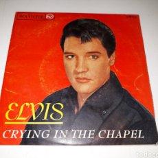 Discos de vinilo: ELVIS PRESLEY- EP CRYING IN THE CHAPEL- RCA VICTOR 1965 ESPAÑA 6. Lote 111584840