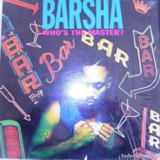 Discos de vinilo: WHO'S THE MASTER (3 VERSIONS) / INTERNAL AFFAIR (2 VERSIONS - BY BARSHA. Lote 111588279
