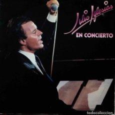 Discos de vinilo: JULIO IGLESIAS. EN CONCIERTO. DOBLE LP ESPAÑA. Lote 111589891