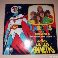 Discos de vinilo: PARCHÍS- COMANDO G - LA BATALLA DE LOS PLANETAS. Lote 111592478
