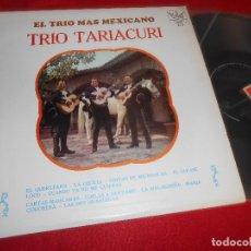 Disques de vinyle: TRIO TARIACURI EL TRIO MAS MEXICANO LP 1968 REX R 172 MEXICO. Lote 111593167